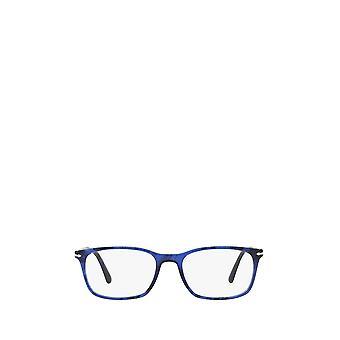 Persol PO3189V striped blue unisex eyeglasses