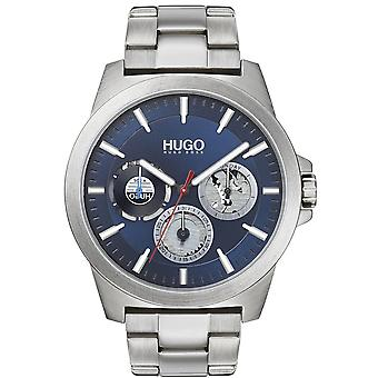 HUGO 1530131 Twist Blue And Silver Stainless Steel Men's Watch