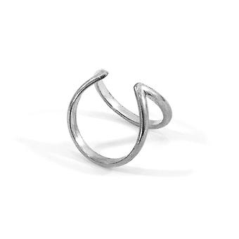 ANCHOR & CREW Huntington Surf Silver Ring