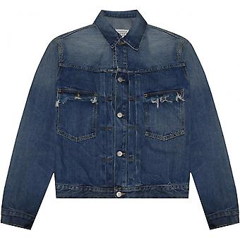 Maison Margiela Frayed Denim Jacket