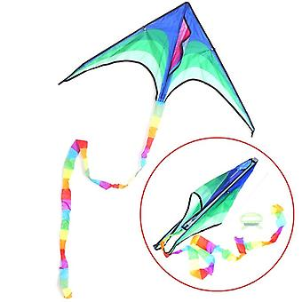 Large Delta Kids And Adults Single Line Easy To Fly Kite With Handle