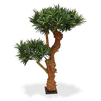 Kunstmatige Podocarpus Bonsai boom 65 cm UV