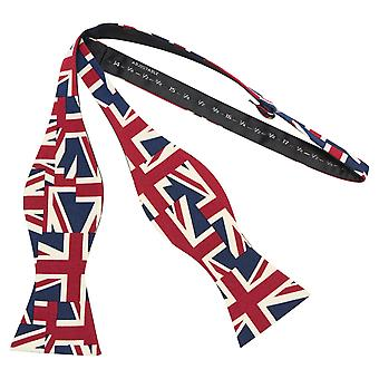 Union Jack Design Auto-Tie Bow Tie