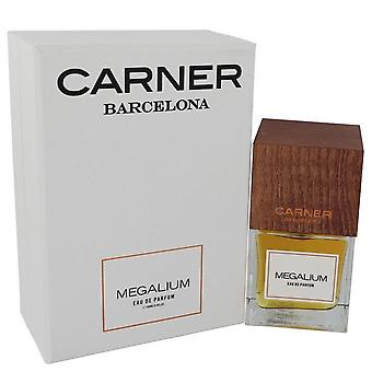 Megalium Eau De Parfum Spray (Unisex) By Carner Barcelona 3.4 oz Eau De Parfum Spray