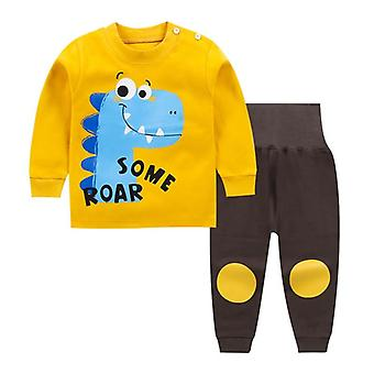 Brand Cotton Baby Clothes Fashion Cartoon T-shirt + Pants Baby Clothes Sets