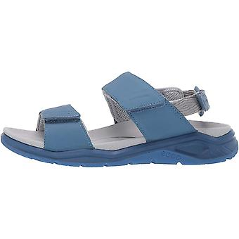 ECCO zapatos para mujer 88061301001 cuero abierto dedo del pie casual slingback sandalias