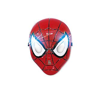 Children's Luminous Led Mask Spider-man Cosplay Props