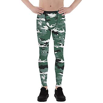 Earth Green Camo Leggings