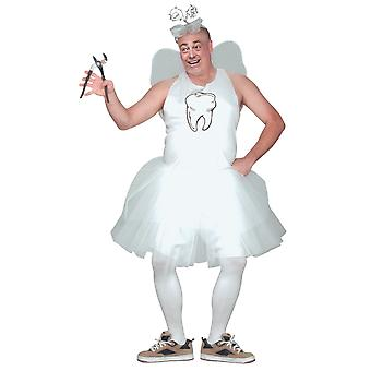 Tooth Fairy Fairytale Dentist Funny Bucks Night Party Adult Mens Costume Plus