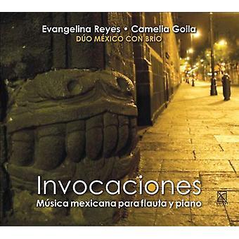 Evangelina Reyes & Camelia Goila - Invocaciones [CD] USA import
