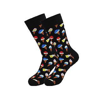 Cozy Designer Trending Food Socks - Ice Cream And Women