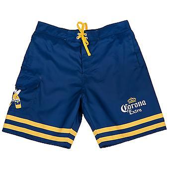 Corona Extra Gekruiste Flessen Board Shorts