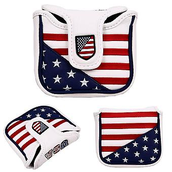 Square Mallet Putter Cover Golf Headcover