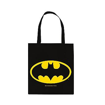 DC Comics Batman Logo Lærred Tote Taske