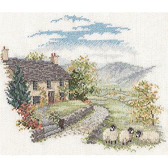 Derwentwater Designs Countryside - High Hill Farm (CON03) Cross Stitch Kit by Bothy Threads