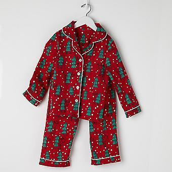 Perheen joulupyjama, Talvinen pehmeä pyjamasetti