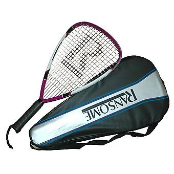 Ransome R1 Power Racket With Full Cover For Comptetitive Racketball