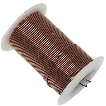 عناصر سلكية، سلك نحاسي عتيق مقاوم للتشويه، قياس 20 ياردة 15 ياردة (13.5 متر)