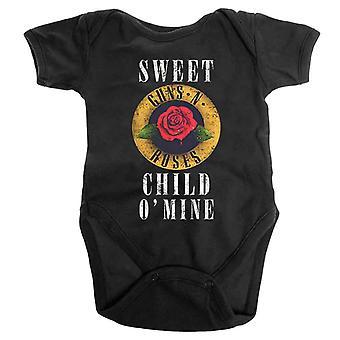 Guns N Roses Baby Grow Sweet Child O Mine Logo Officielle 0 til 24 måneder