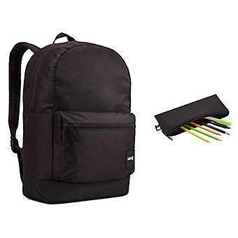 Case Logic Campus 2019 Casual Backpack, 46 cm, Black