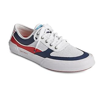 Sperry Soletide Mens Leather Casual Trainers Navy