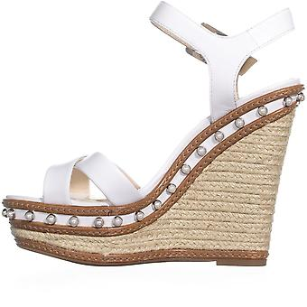 Jessica Simpson Womens Aeralin Leather Open Toe Casual Platform Sandals