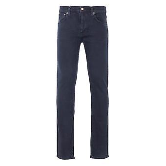 Nudie Jeans Co Lean Dean Slim Fit Jeans - Black Skies