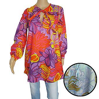 Antik Batik Womens 'Sunflo' Long Tunic Shirt/Dress