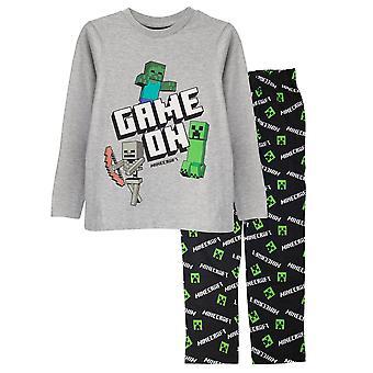 Minecraft Boys Juego En Pijama Set