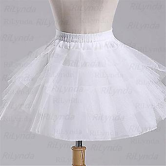 Vestido Longo Ball Gown Crinoline Skirt Petticoats
