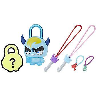 Lock Stars Series 1 - Blue Horned Monster Figure