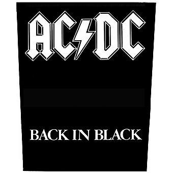 AC/DC - Back in Black Back Patch