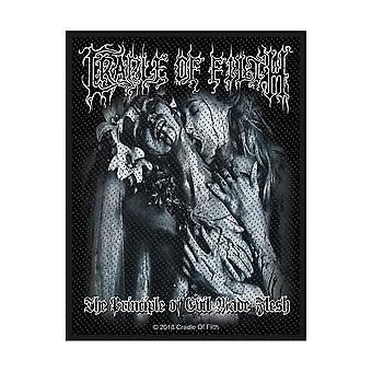Cradle Of Filth - Principe du mal fait chair Patch standard