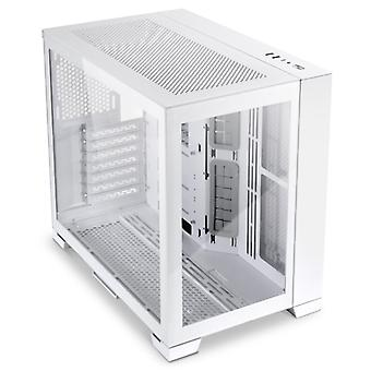 Lian-Li O11 Dynamic Mini-S Midi-Tower Tempered Glass - White
