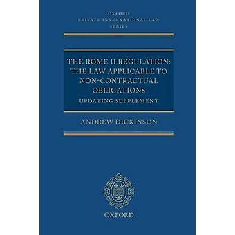 Roma II-forordningen av Dickinson & Andrew Consultant & Clifford Chance LLP og advokat advokat høyere domstoler Sivil