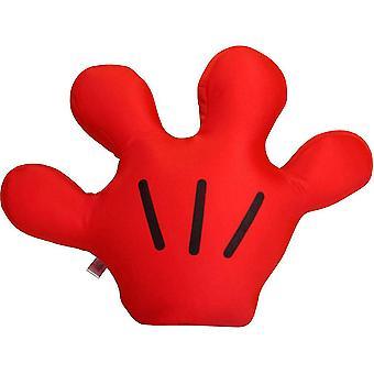 Rajzfilm nagy kéz Mickey Palm Cosplay kesztyű színpadi jelmez eszközök gyerekeknek piros