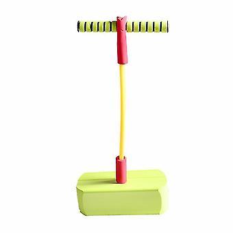 Spielzeugschaum Pogo Pullover für Kinder, sicher und lustig Pogo Stick (grün)