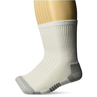 Essentials Herren 6er-Pack Performance Baumwolle gepolsterte Athletic Crew Socken