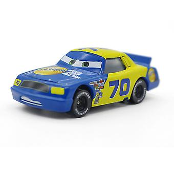 Cars Race Car Model No. 70 Racing Driver Gasprin Hood Ache Relief Children's Toy Car Simulation Model