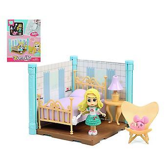 Doll's House Barmila Bedroom 112627 Blue