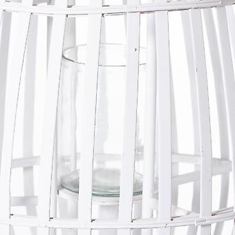 Hill interiør wicker kuppelformet stearinlys lanterne