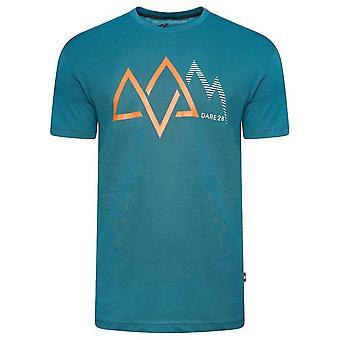 Dare 2B Heren Allusion Mountain Biologisch Katoenen T-Shirt