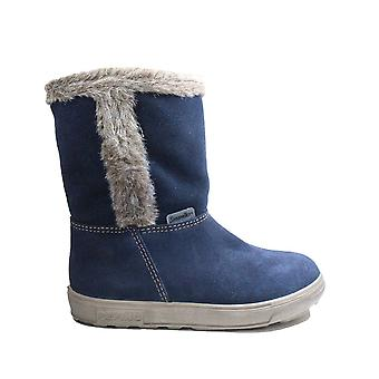 Ricosta Usky 722720100-172 Nautic Nubuck Leather Girls Warm Boots
