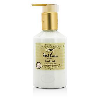 Crema de manos de Sabon - manzana lavanda 34163 200ml / 7oz