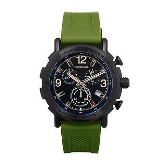 Morphic M93 Serien Kronograf Strap Watch m/Date - Grønn