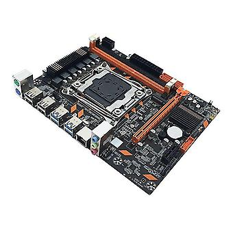 F19e x99 ddr3 mini lga2011-3 computadora motherboard de doble canal memoria m.2 interfaz