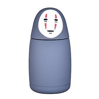 Flacon sous vide en acier inoxydable Miyazaki Hayao Spirited Away No Face Man Theme Mugs Thermos Cup