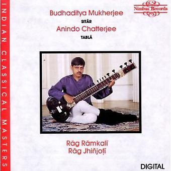Budhaditya Mukherjee - importation USA Rag Ramkali/Rag Jhinjoti [CD]