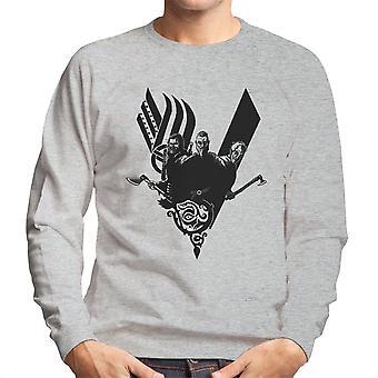 Plunder Vikings Ragnar Lothbrok Men's Sweatshirt