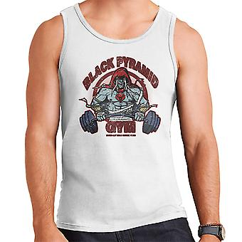 Black Pyramid Gym Mumm Ra Thundercats Men's Vest